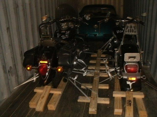 Shipping Motorcycle Oversea By Ocean