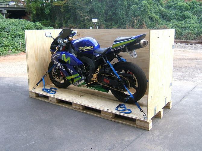 Overseas Motorcycle Shipping